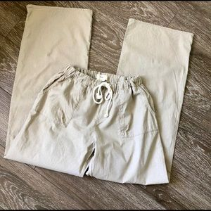 TNA linen wide leg pants